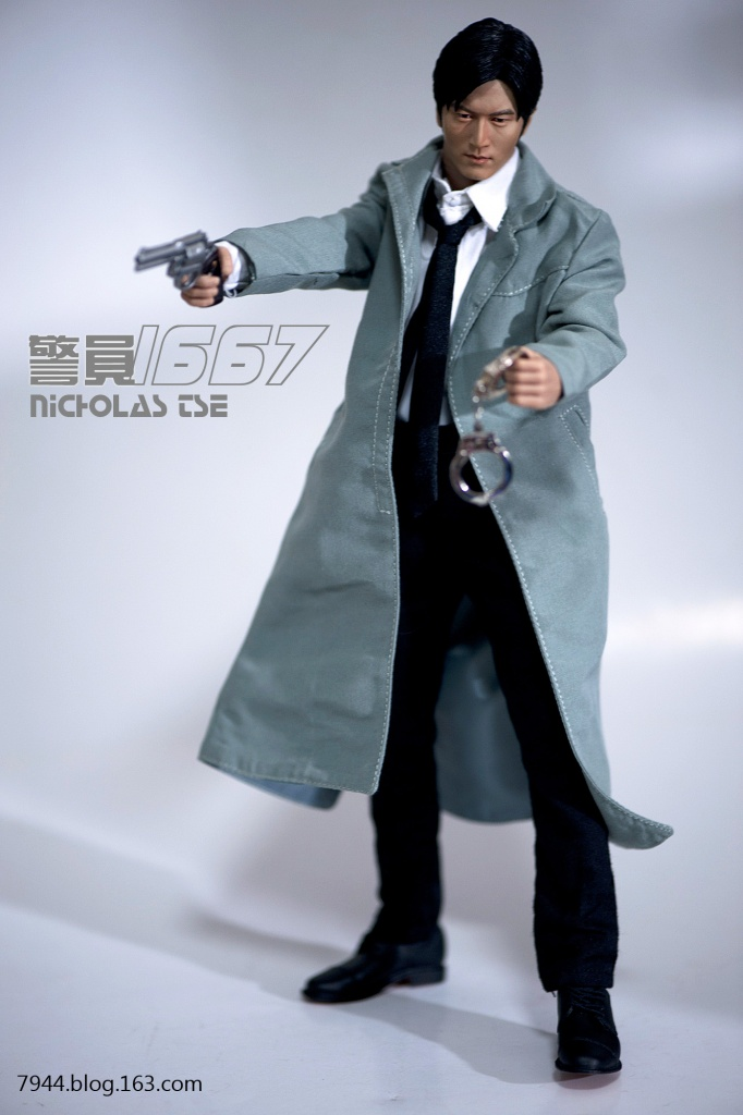 12寸DIY-被人遗忘的小角色 警员1667 (谢霆锋) - 飞不动的鱼 -