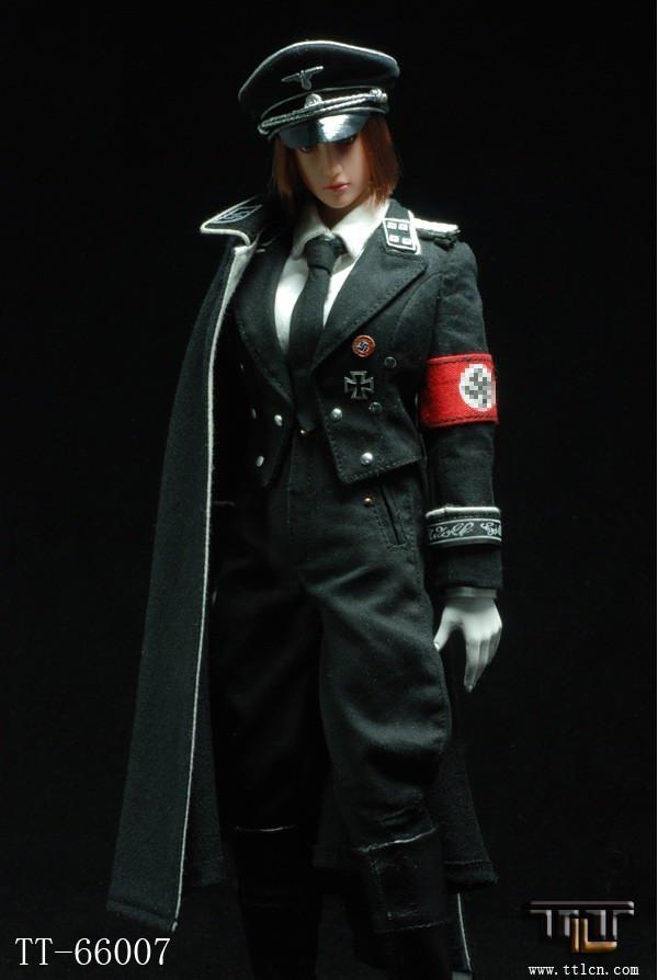 66007 二战德军女 黑ss2.0 女纳粹党卫军 现货janken wang 淘宝网
