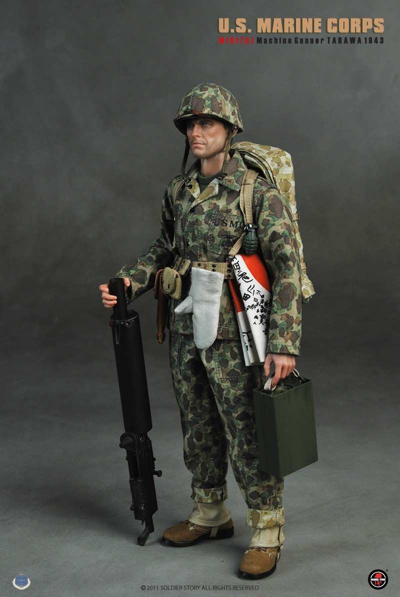 [Soldier Story] U.S.M.C M1917A1 Machine Gunner Tarawa 1943 133708w40t4axy4jz25kwg