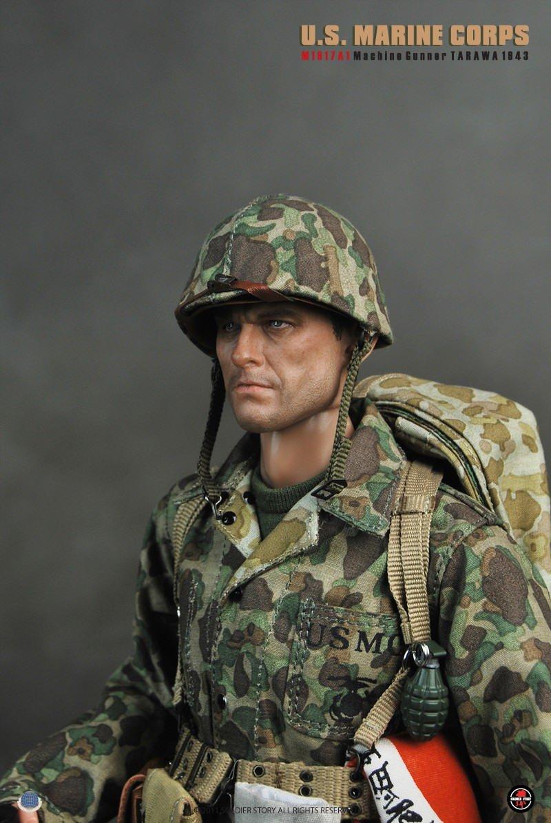 [Soldier Story] U.S.M.C M1917A1 Machine Gunner Tarawa 1943 135050o8o57yyql5qyy595