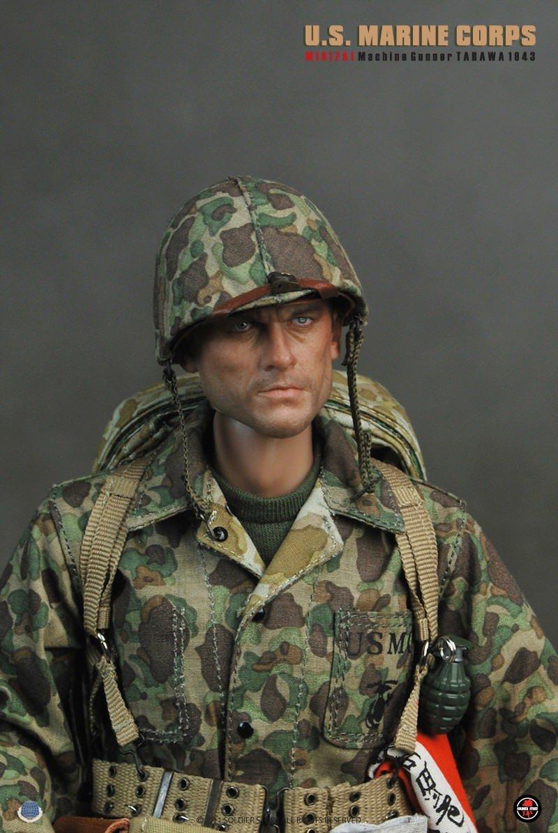 [Soldier Story] U.S.M.C M1917A1 Machine Gunner Tarawa 1943 135106387z9t97nn9vfcs9