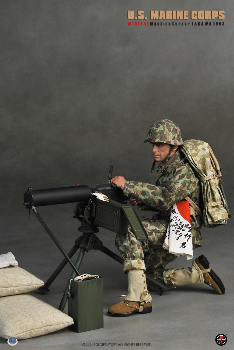 [Soldier Story] U.S.M.C M1917A1 Machine Gunner Tarawa 1943 135804ory28ya1mhz8darj