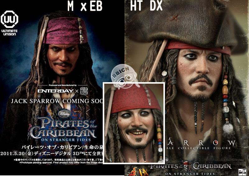 PIRATE OF THE CARIBBEAN : ON STRANGER TIDES - JACK SPARROW (DX06) 205623orof1nurm3umn1vv