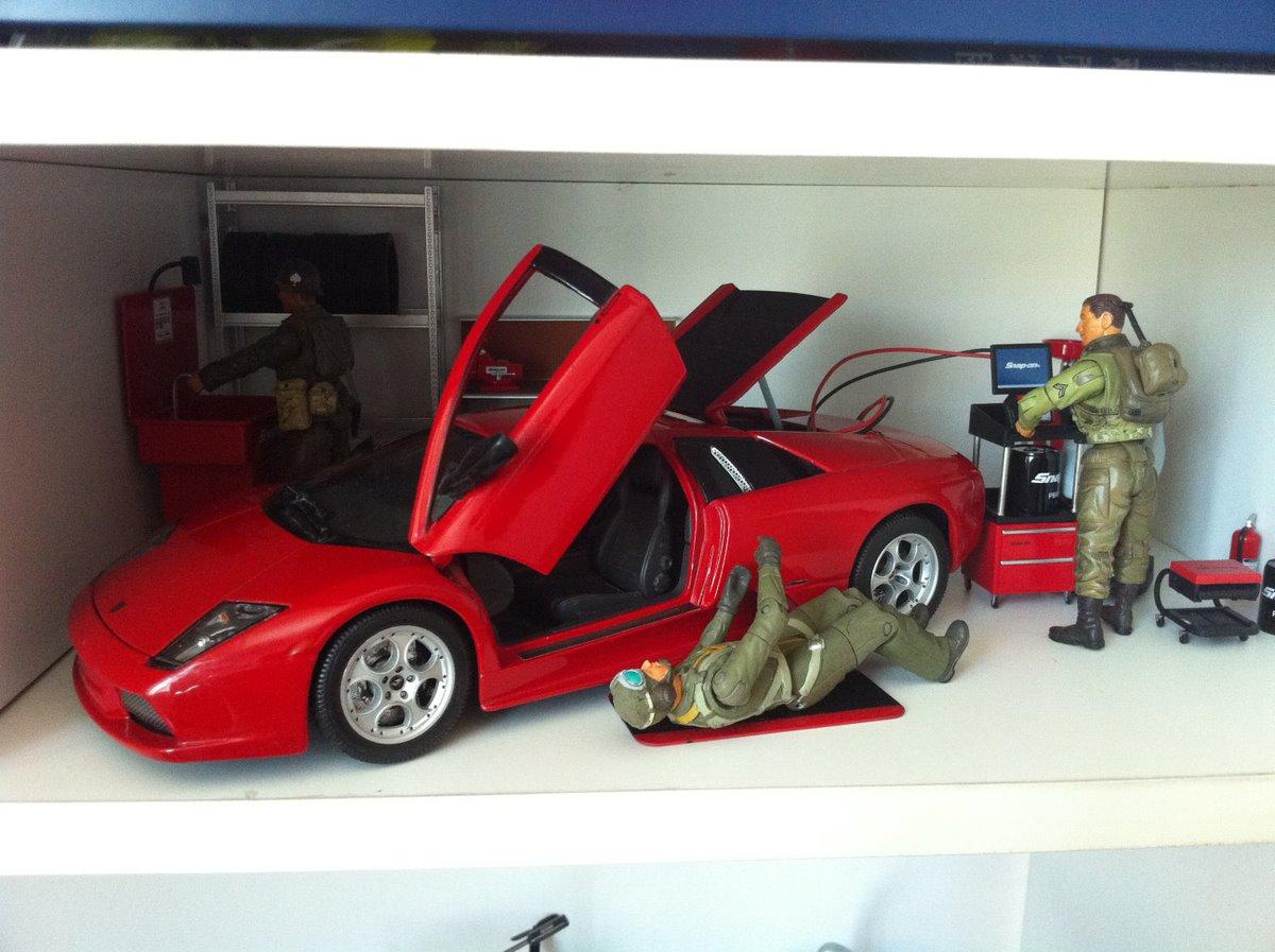 改装店第二集 蓝宝基尼来保养了 静态模型 其他玩具类交流区 Model