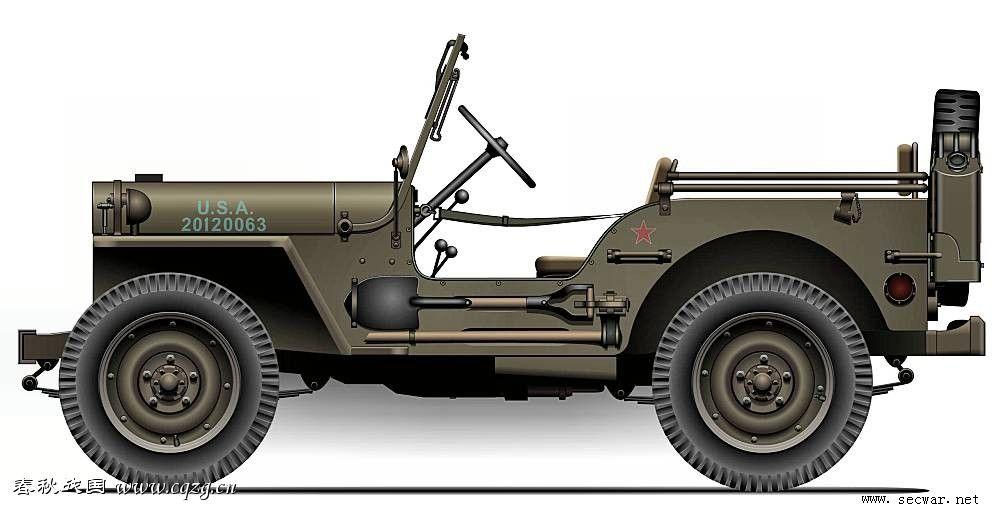 二战美军威利斯.奥佛兰军用吉普车 2 .jpg