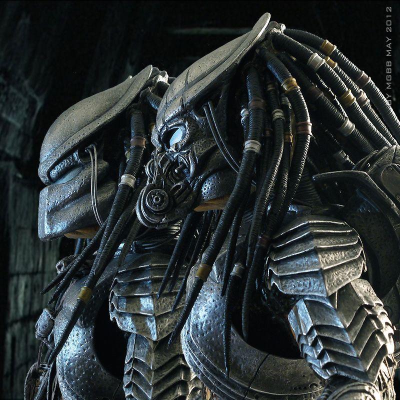 "MGBB作品:AVP- Celtic Predator 改造(转自BBICN) - 飞不动的鱼 - ""玩""全收藏"