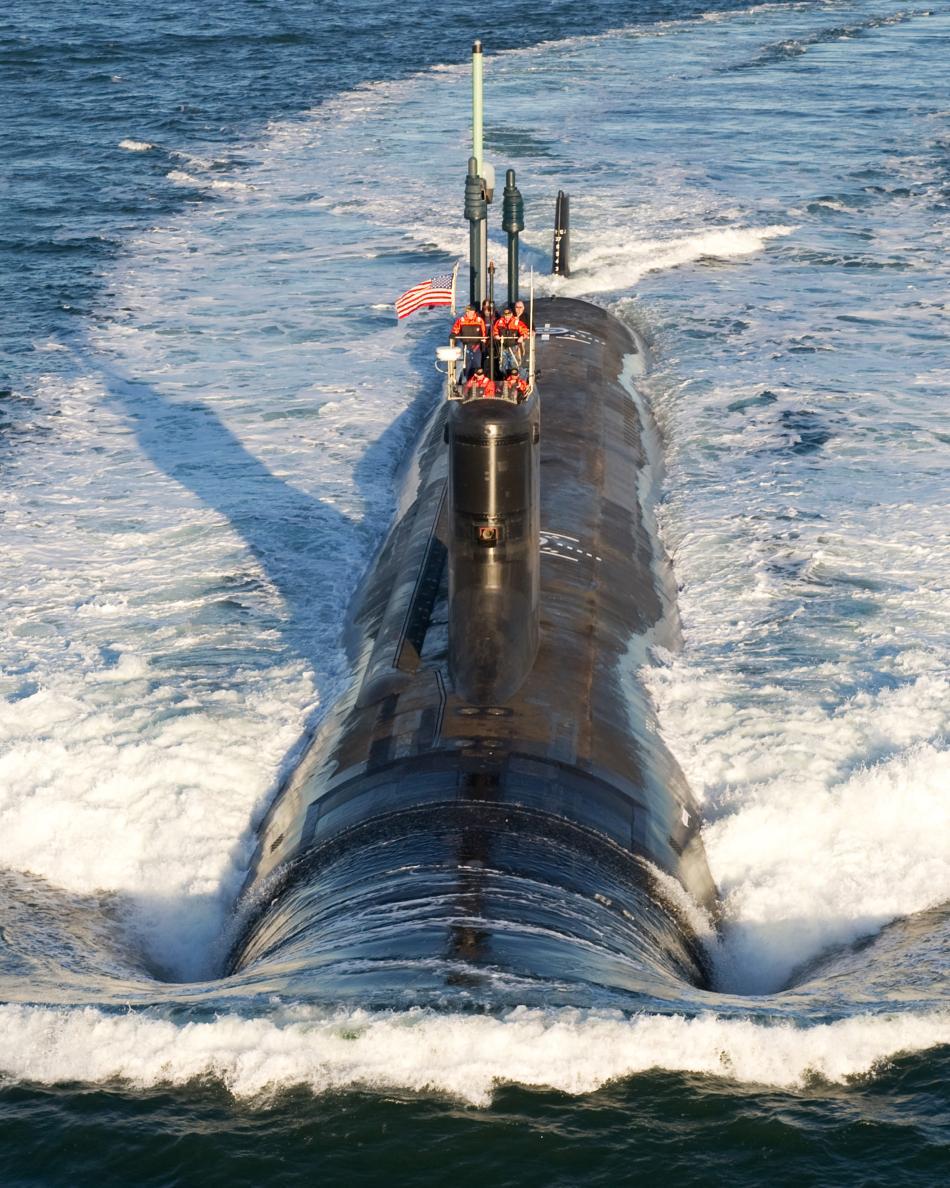 美国最新型核潜艇海试兵人在线