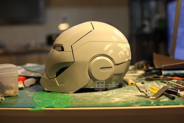 康康康湿傅自制钢铁侠MK3盔甲计划之自