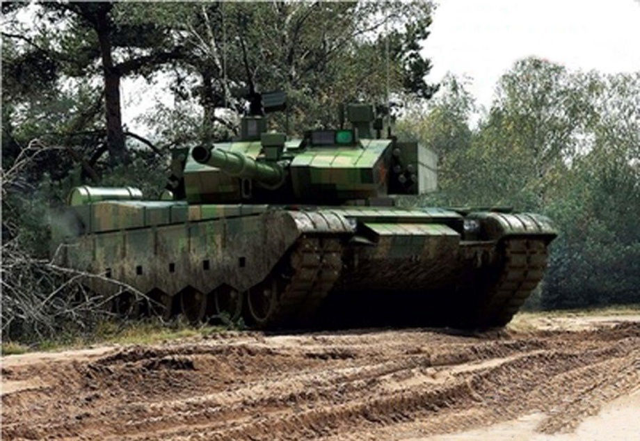 中国99式主战坦克-〓军事资料和图片讨论区〓