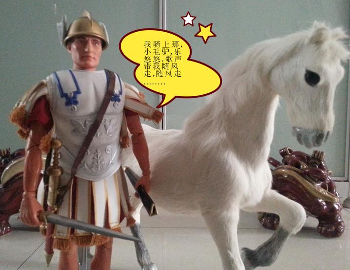 骑白马的,不一定是唐僧兵人在线