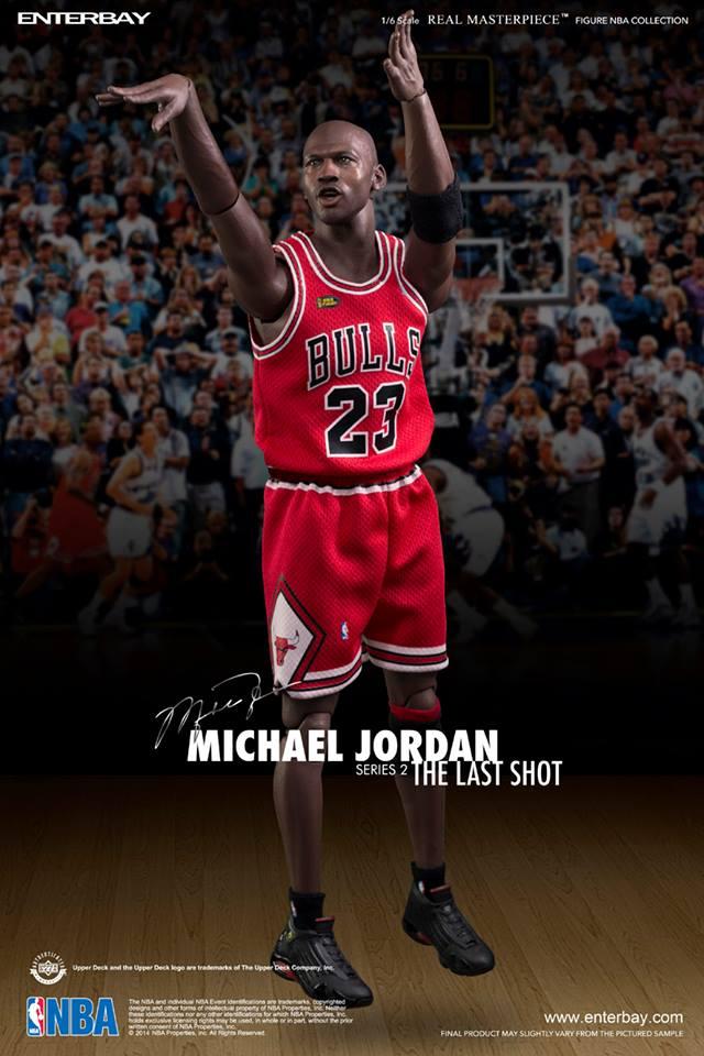 [Enterbay] NBA Legend Series: Michael Jordan (Series 2) - The Last Shot 015142lw96ojj607w66jq0