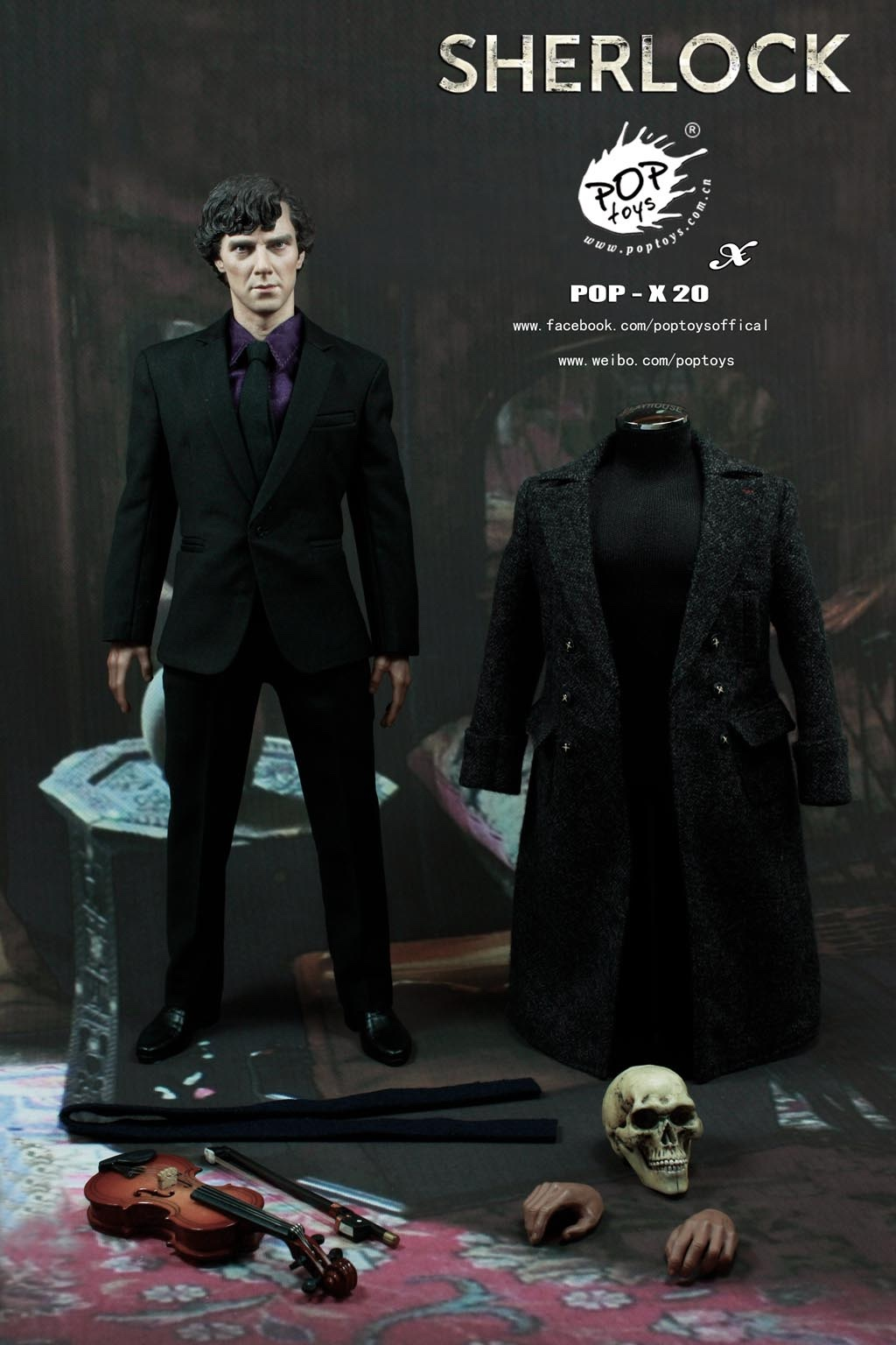 [Pop Toys] Sherlock 1/6 scale 102537ao1xj2oq1ur7133m