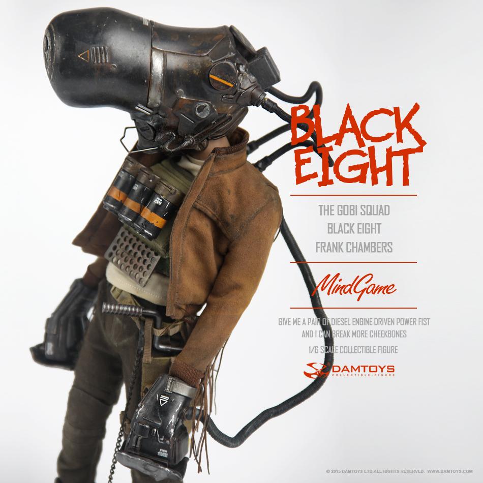 DAMTOYS 1/6 MindGame - The Gobi Squad - Black Eight - Frank Chambers (ZP001) 135345b1jnscfjdyj565gc