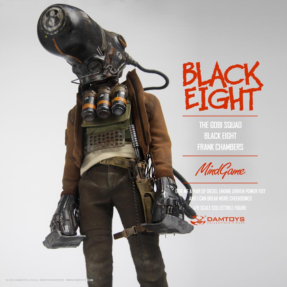 DAMTOYS 1/6 MindGame - The Gobi Squad - Black Eight - Frank Chambers (ZP001) 135346fro1z4okk7oe887a