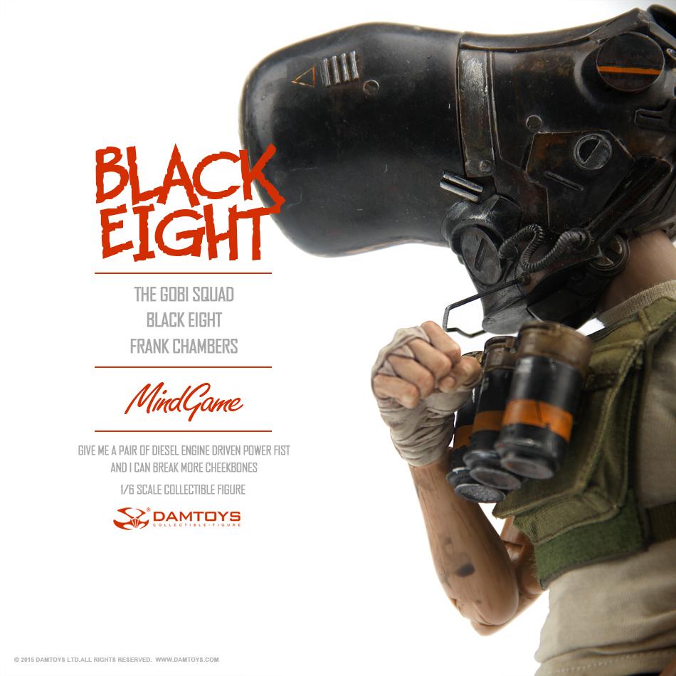 DAMTOYS 1/6 MindGame - The Gobi Squad - Black Eight - Frank Chambers (ZP001) 135348qlhclh5lgjjjtufd