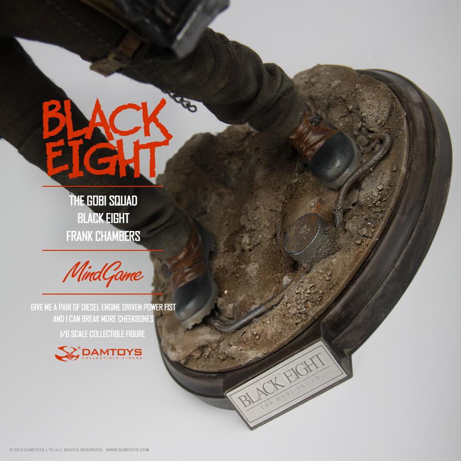 DAMTOYS 1/6 MindGame - The Gobi Squad - Black Eight - Frank Chambers (ZP001) 135354r8alqlqvdmjd8lgr