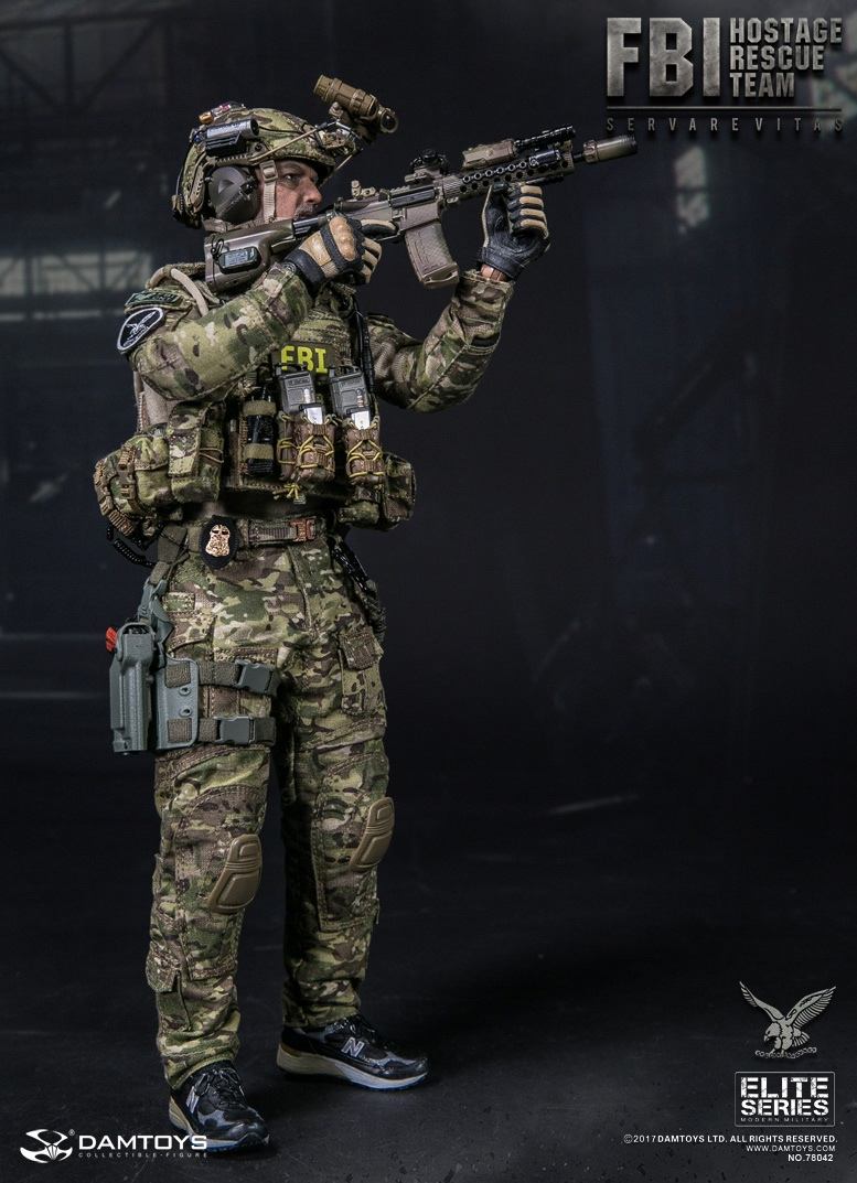 osw.zone Product Announcement DAMToys : 1/6 FBI HRT AGENT ( HOSTAGE RESCUE TEAM )  -78042#