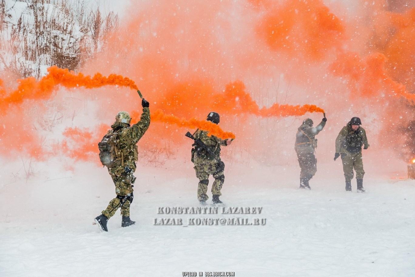 五彩俄罗斯——莫斯科特别反应小组士兵 - hubao.an - hubao.an的博客