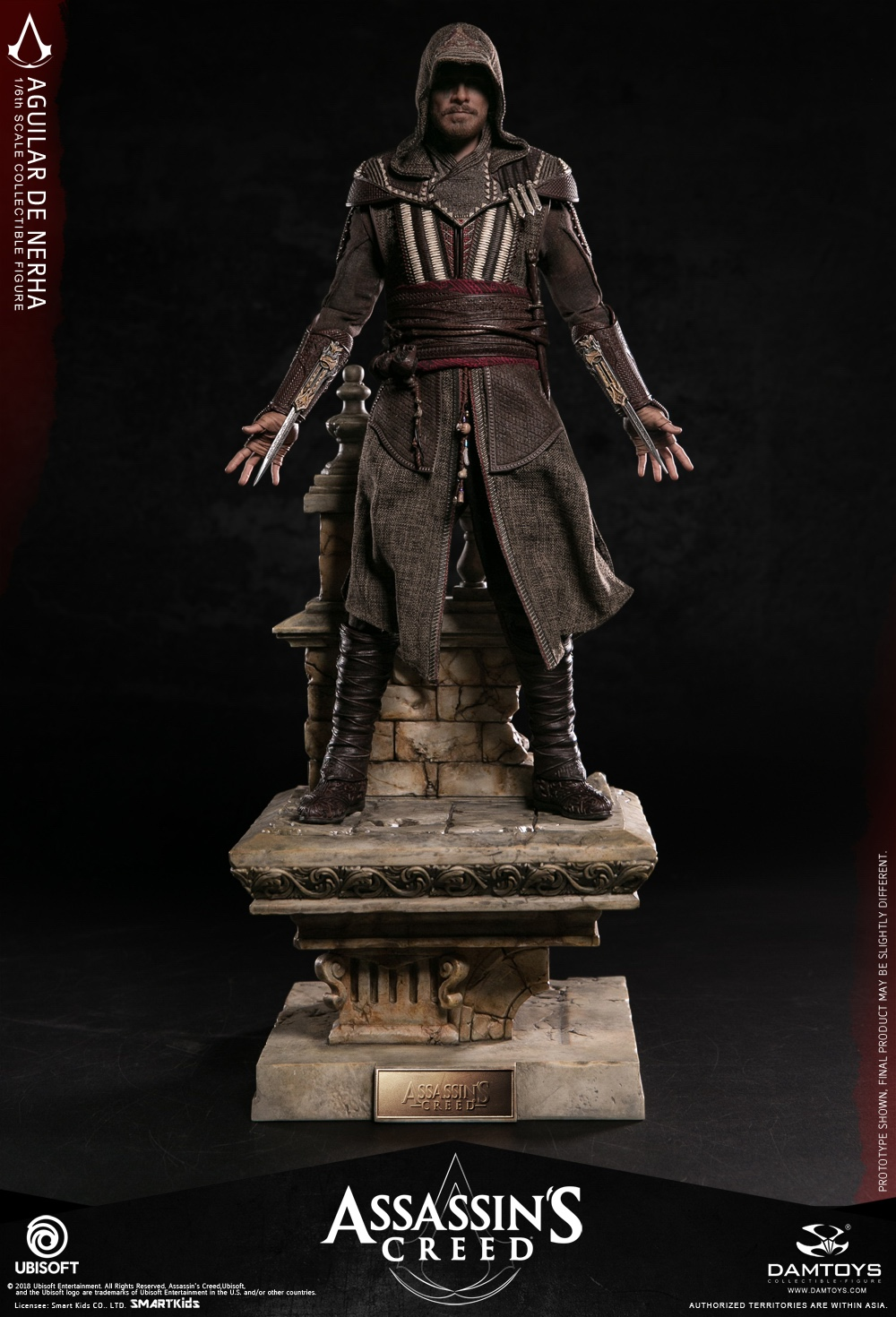 NEW PRODUCT: Damtoys–Assassin's Creed –1/6th scale Aguilar Collectible Figure Specifications 130156pdwvygsz7o9eo8os
