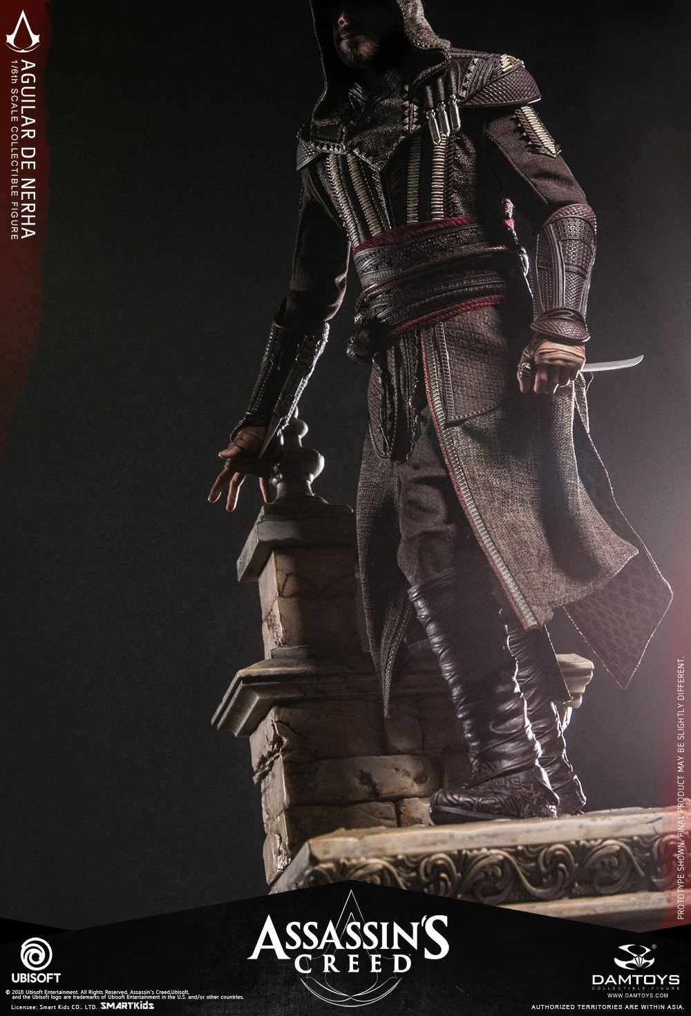 NEW PRODUCT: Damtoys–Assassin's Creed –1/6th scale Aguilar Collectible Figure Specifications 130157v79xf2997bzyt9f1