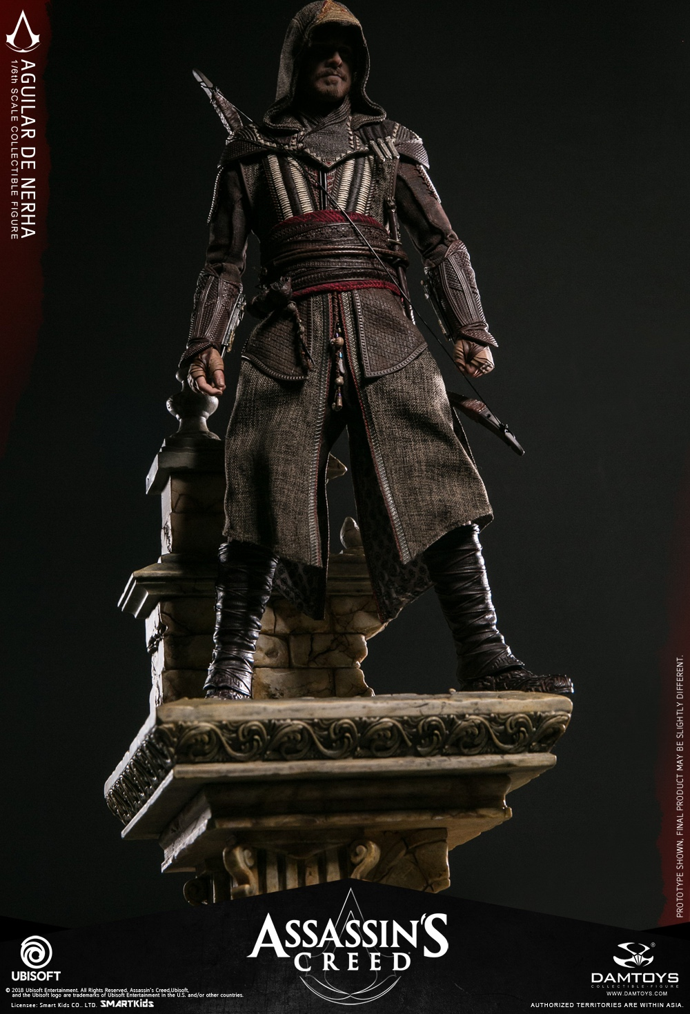 NEW PRODUCT: Damtoys–Assassin's Creed –1/6th scale Aguilar Collectible Figure Specifications 130157z6m888cvzcb8bjid