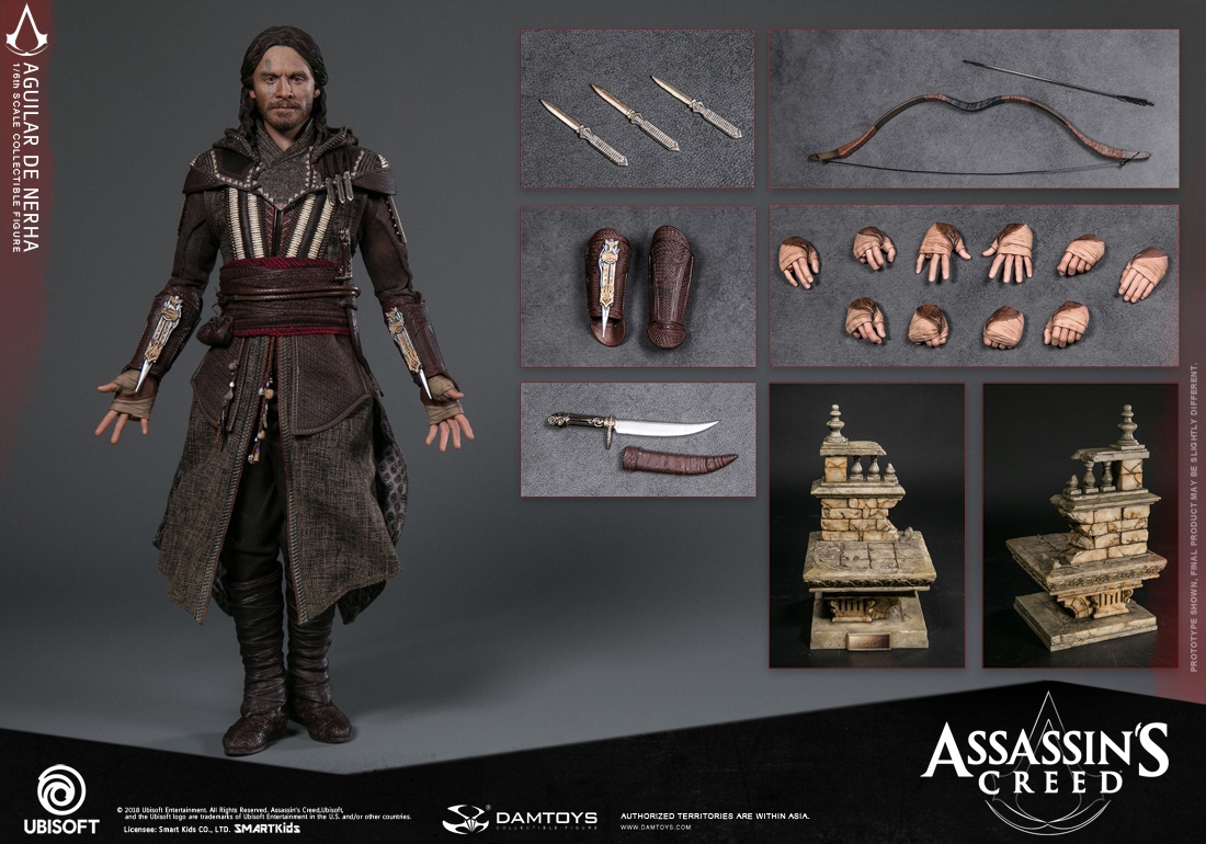 NEW PRODUCT: Damtoys–Assassin's Creed –1/6th scale Aguilar Collectible Figure Specifications 130729wl155lq2i66i52vr