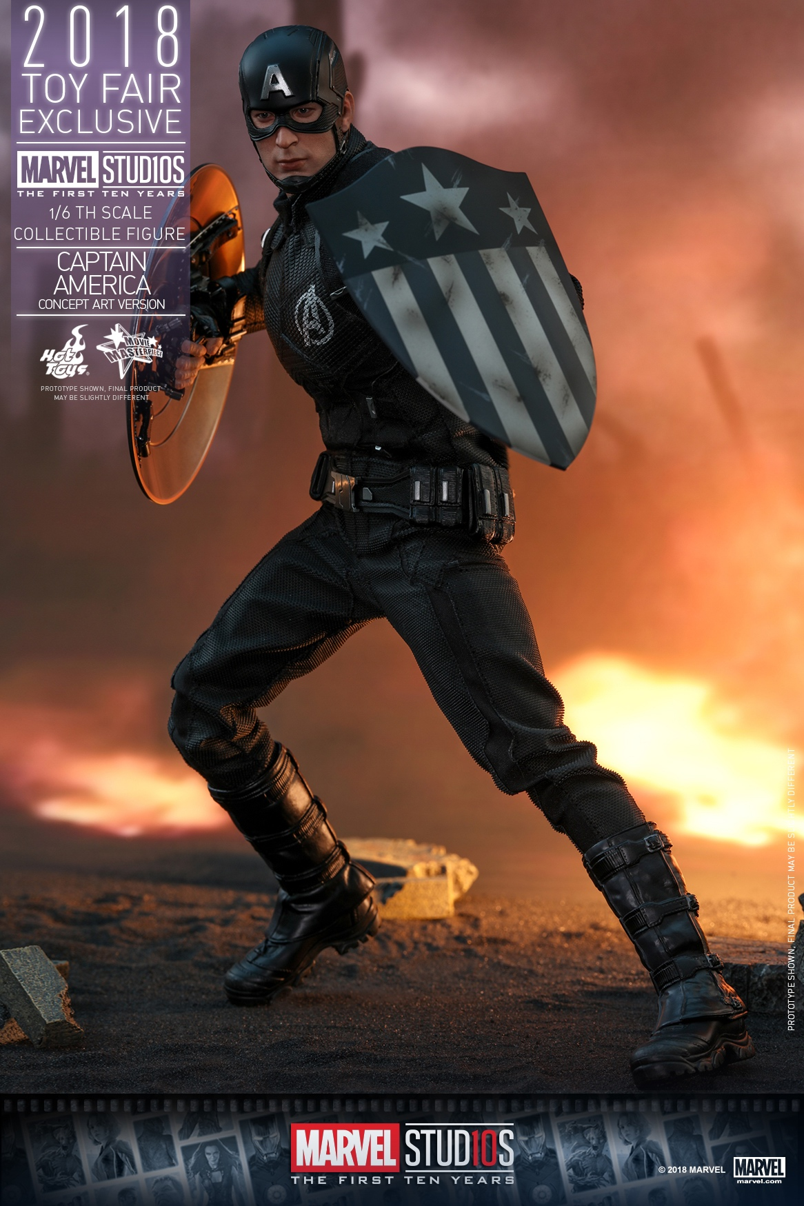 Hot Toys - Marvel Studios 10 - Captain America (Concept Art Version) collectible.jpg