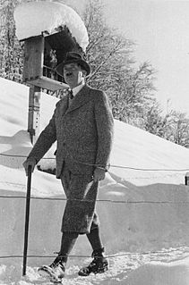 Nazi leader Adolf Hitler with the walking stick and leisure outfit with eplenikk.jpg