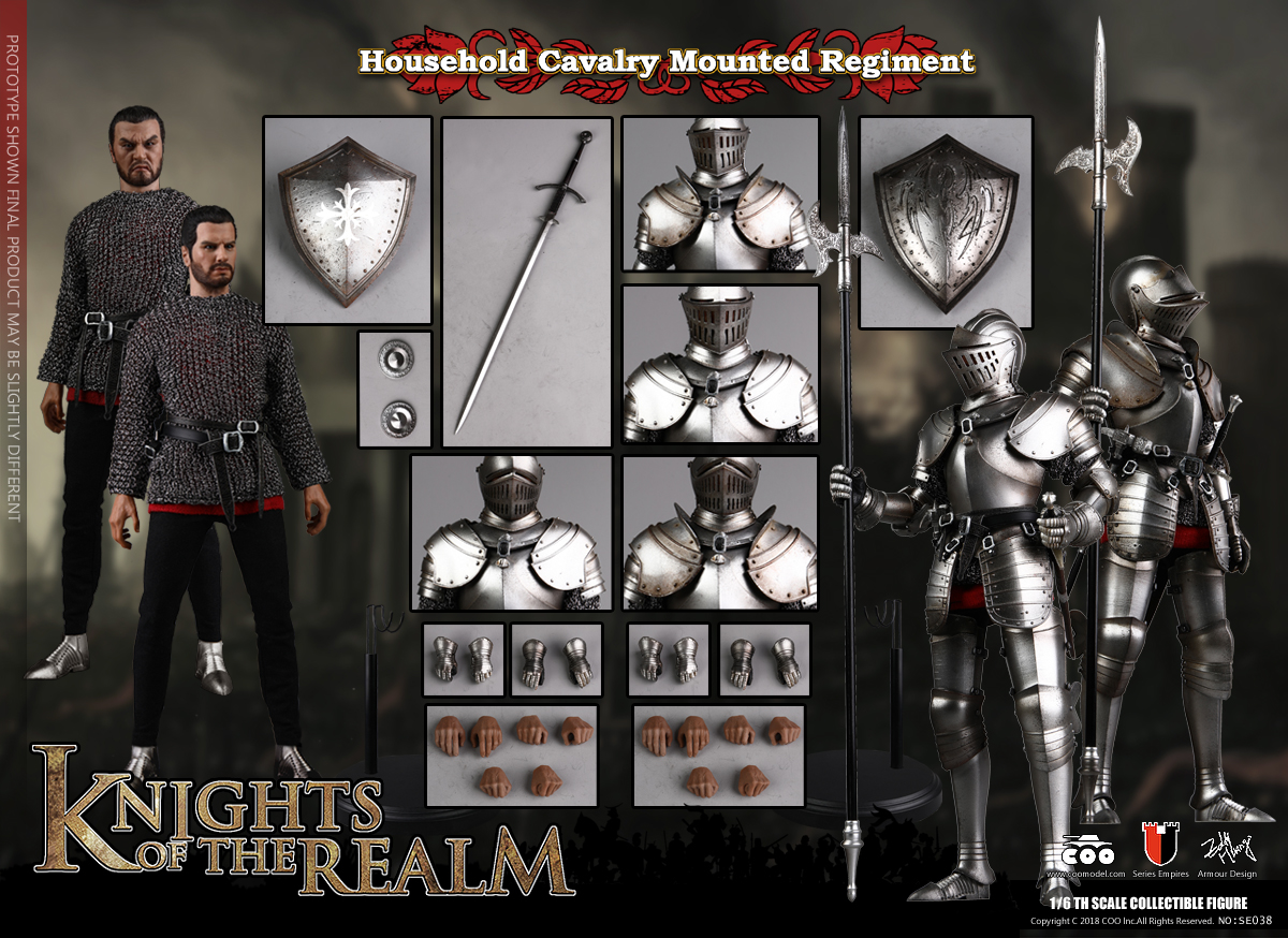 COOMODEL 1/6 Empire Series - (New Lightweight Metal) Milanese Knight 190043trffp89kprekkdow