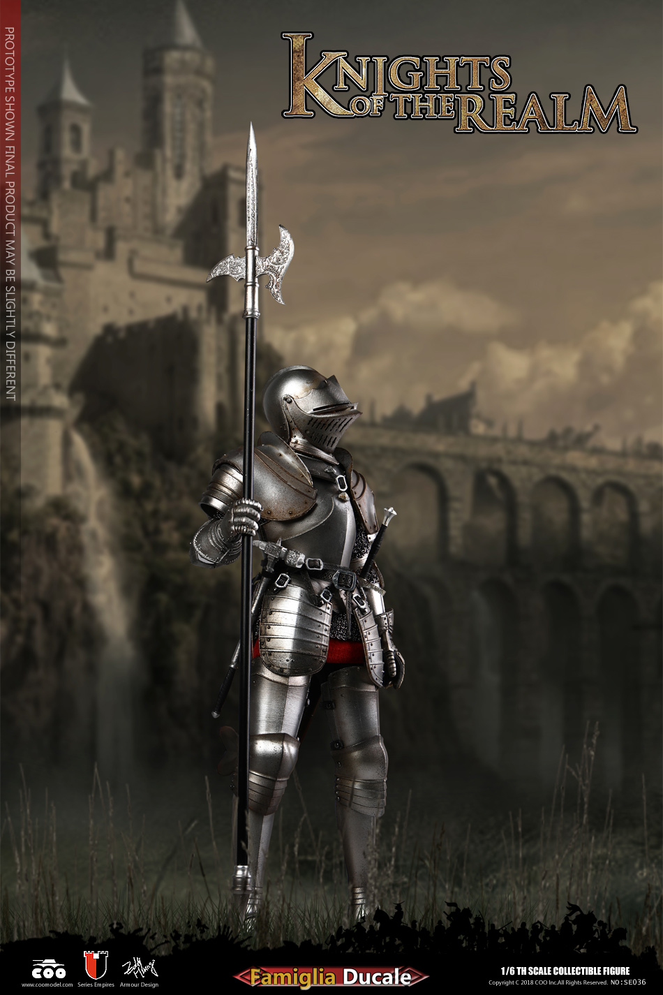 COOMODEL 1/6 Empire Series - (New Lightweight Metal) Milanese Knight 190437n6ws0z6g89rkfqed