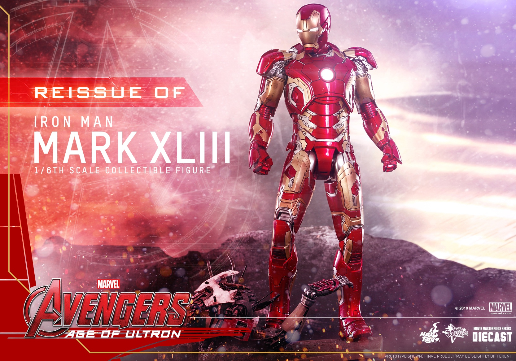 (Reissue) Hot Toys - AAOU - Iron Man Mark XLIII (Diecast) collectible figure_PR1.jpg