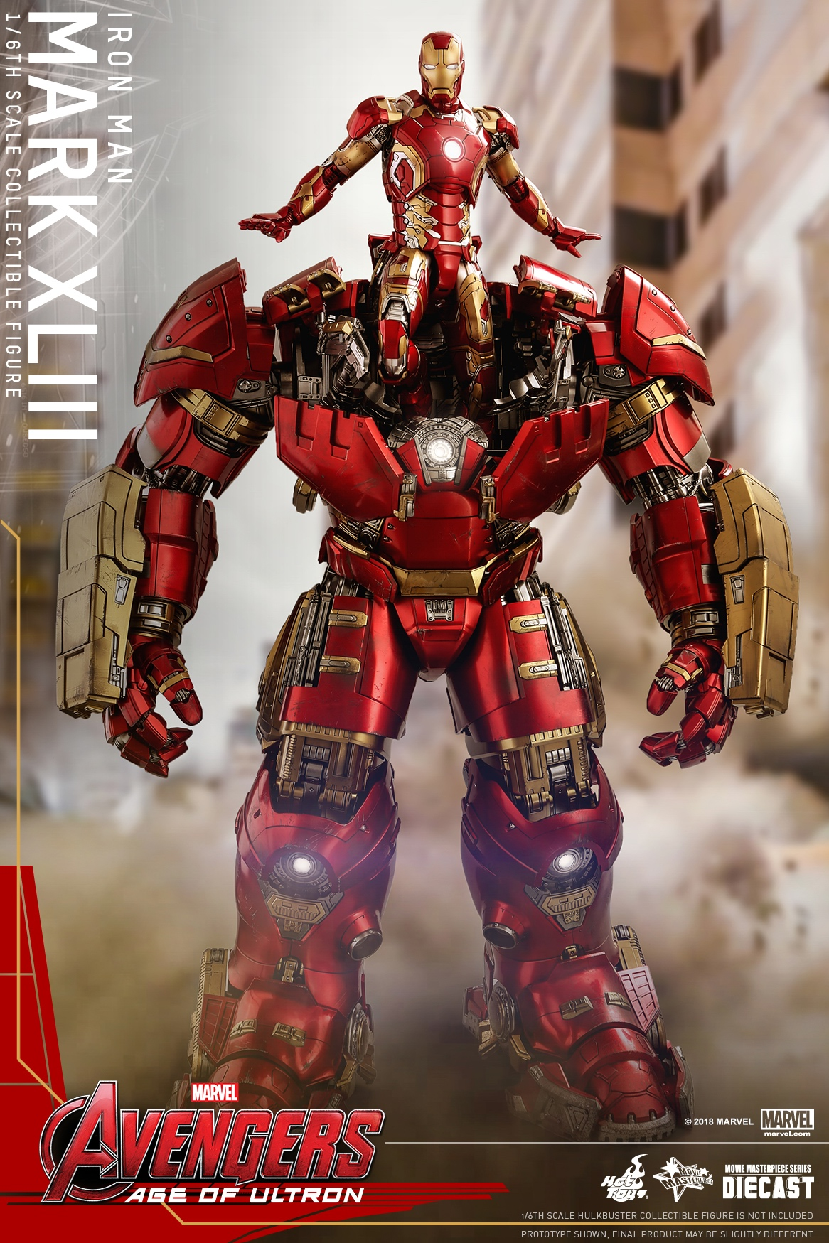 (Reissue) Hot Toys - AAOU - Iron Man Mark XLIII (Diecast) collectible figure_PR2.jpg