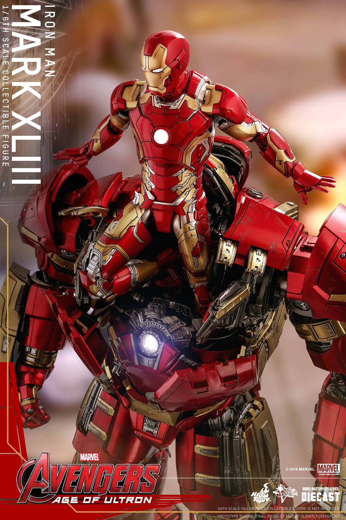 (Reissue) Hot Toys - AAOU - Iron Man Mark XLIII (Diecast) collectible figure_PR3.jpg