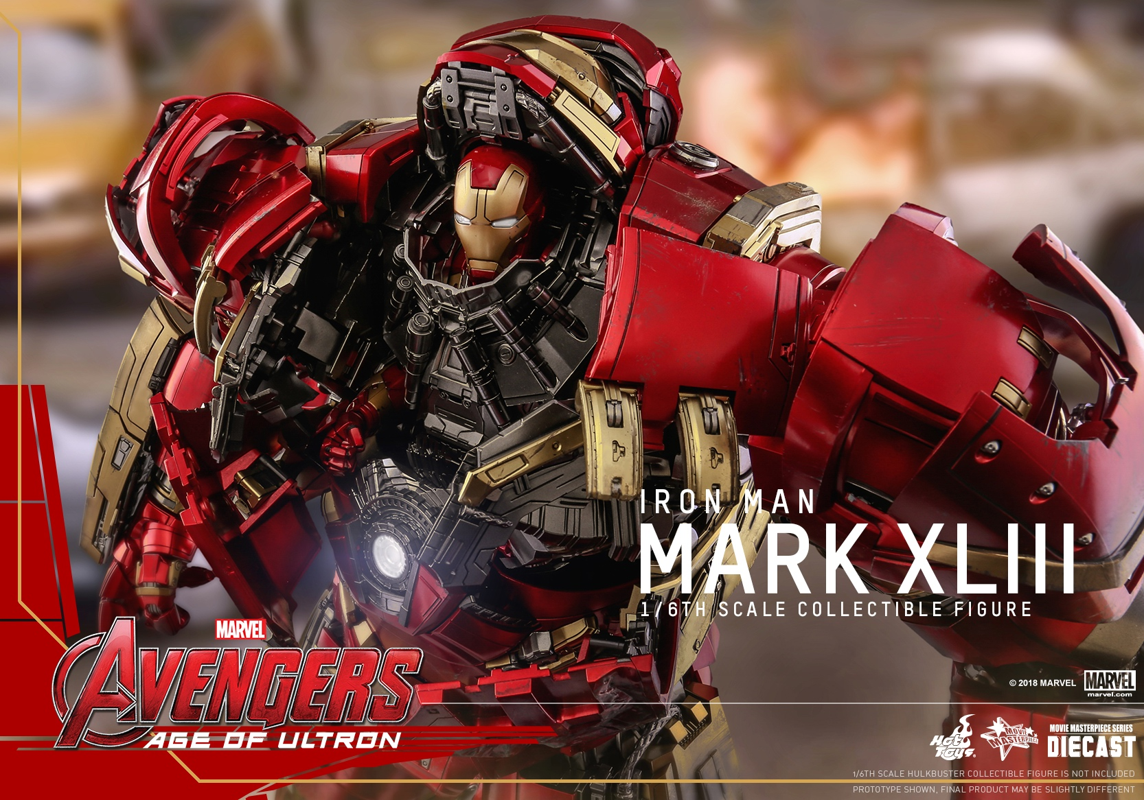 (Reissue) Hot Toys - AAOU - Iron Man Mark XLIII (Diecast) collectible figure_PR4.jpg