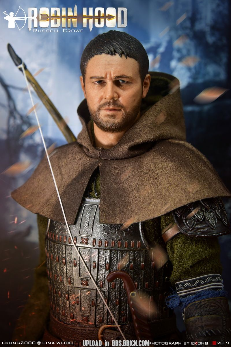 NEW PRODUCT: POPTOYS: 1/6 EX21 Robin Hood Chivalrous Robin Hood - Double Head Carving & War Horse 150002vy04jxi4rjj2j4wu