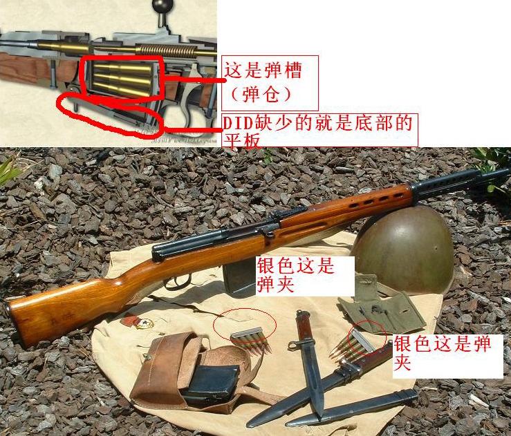 maose-DID80055毛瑟短步枪的弹匣插入口是空的,对吗