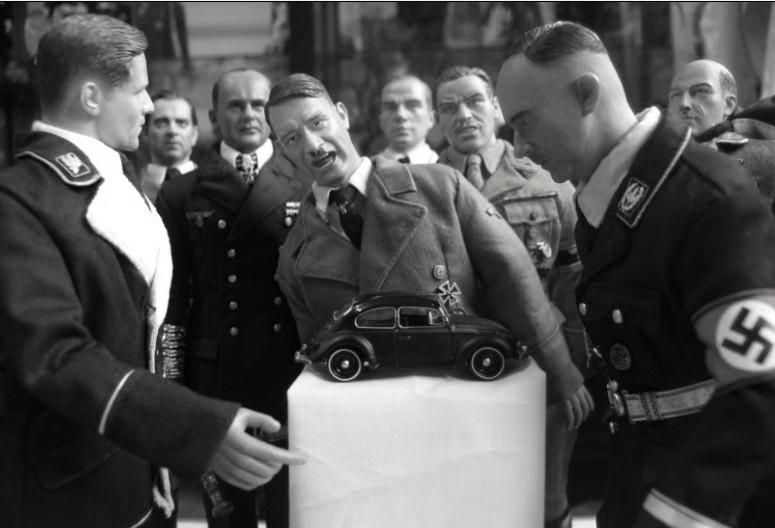 6 元首参观1939年德国国际汽车博览会高清图片